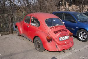 mașini, mașini vechi, București, Volkswagen Beetle 1300