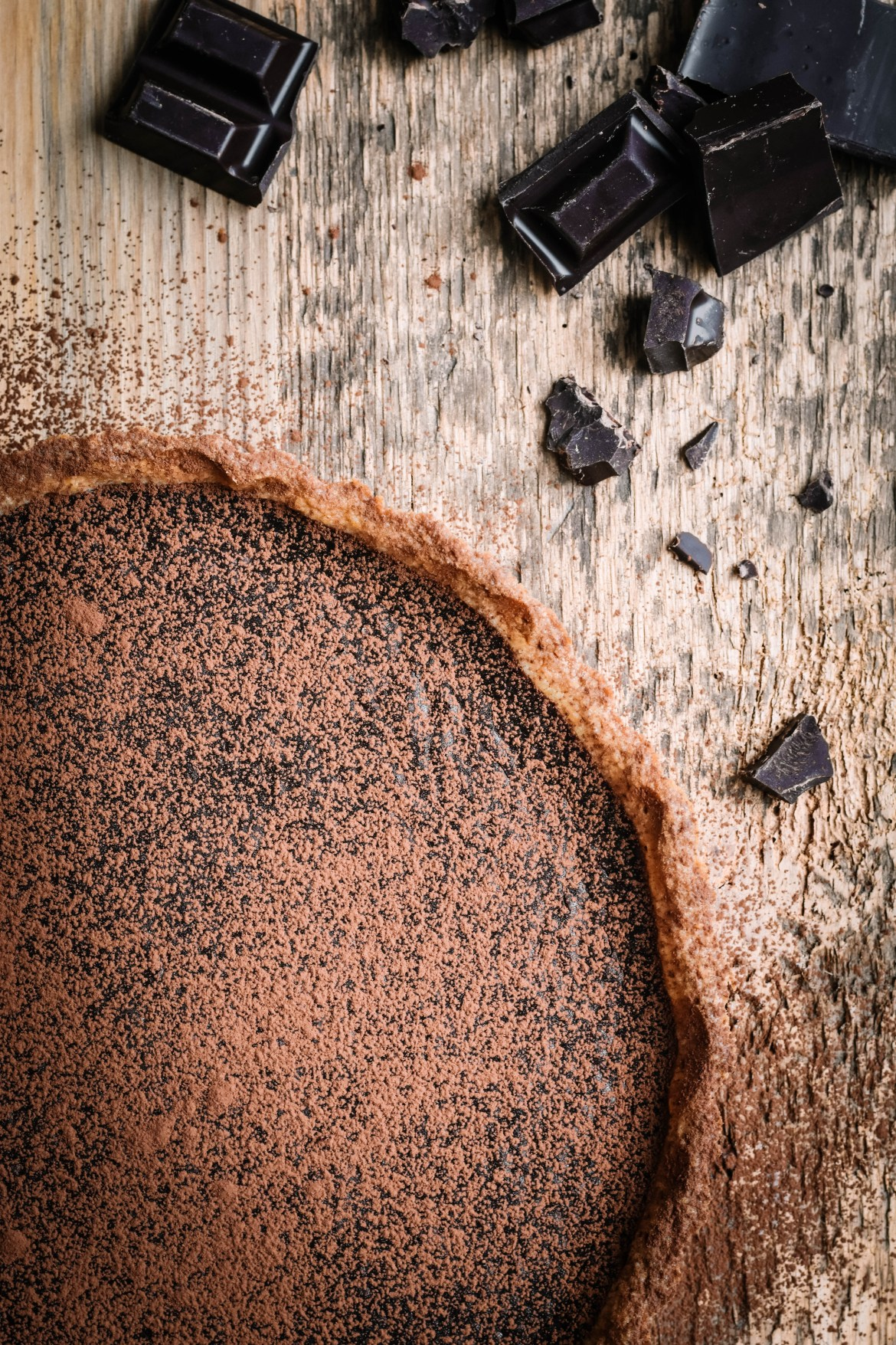 Dark Chocolate Honey Mustard Tart (4)