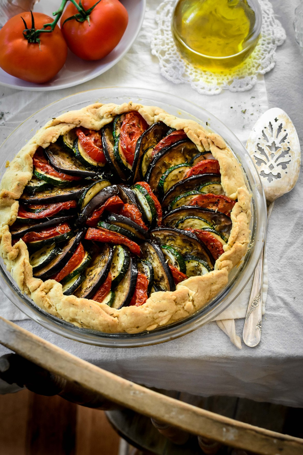 Layered Vegetable Tian Galette
