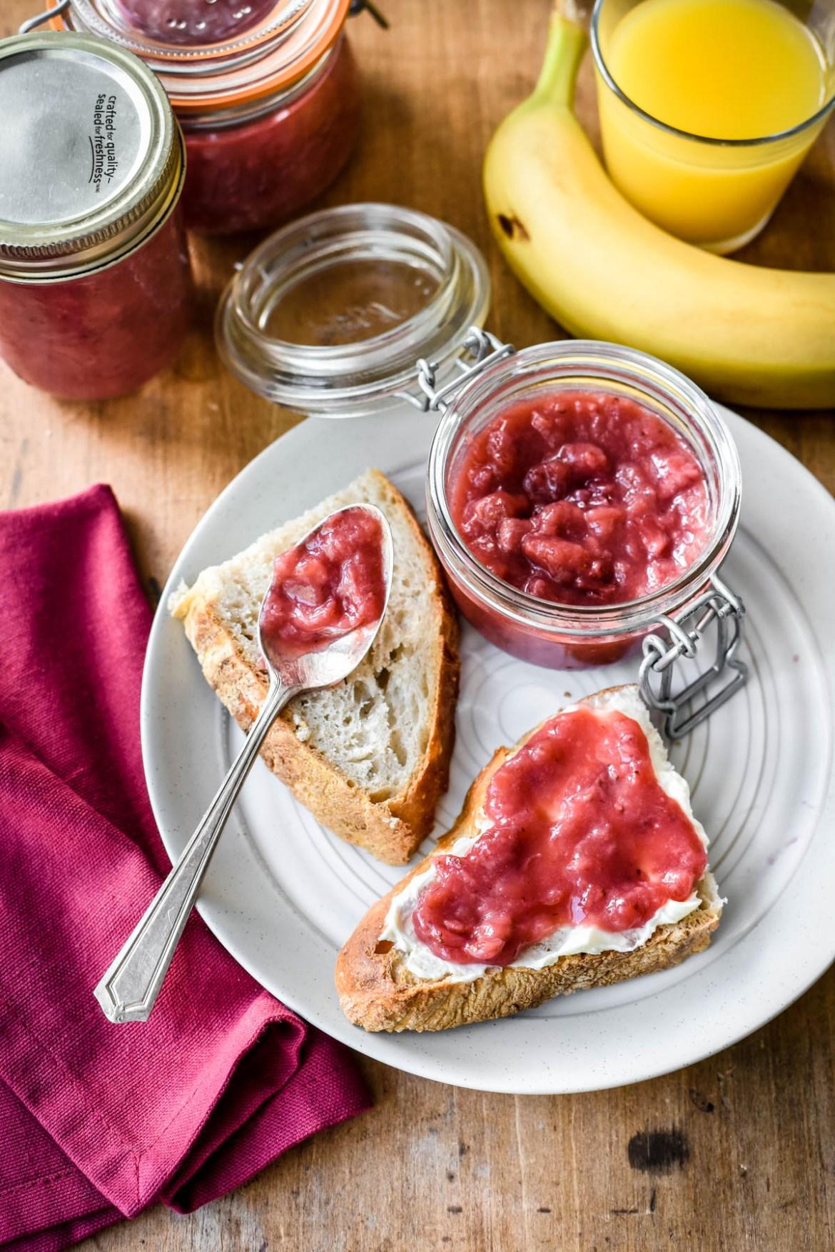 Strawberry Banana Jam