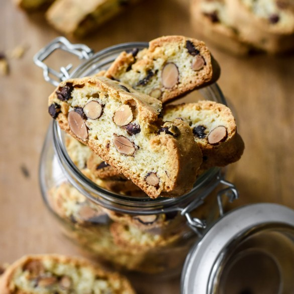 Chocolate Almond Twice-baked cookies from Provence