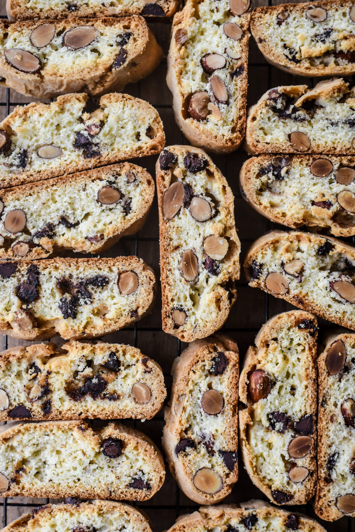 """Chocolate Almond Twice-baked cookies from Provence (""""Croquants"""")"""