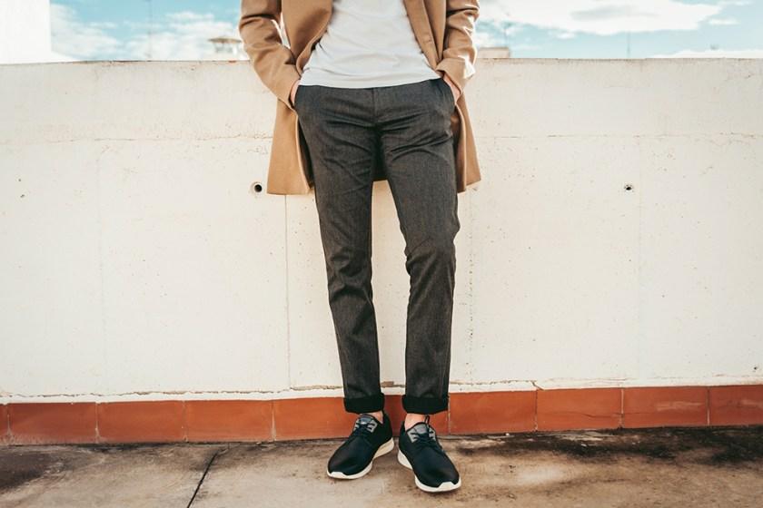 Zapatos con suela resistente
