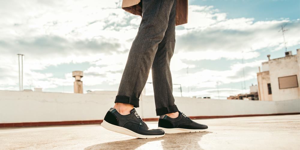 Los zapatos Lisboa por las azoteas