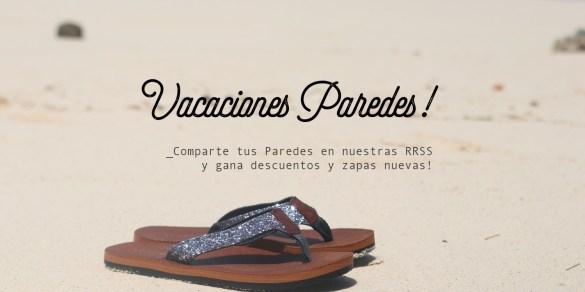 vacaciones de verano con Paredes