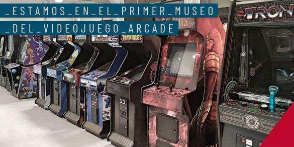Paredes patrocina el Primer Museo del VideoJuego Arcade en España