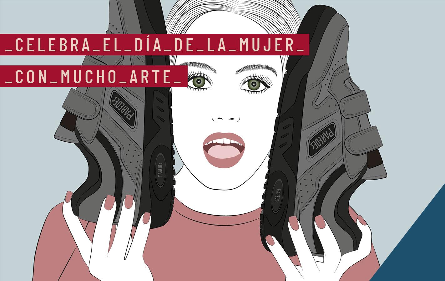 Dia de la mujer con arte en Paredes Blog