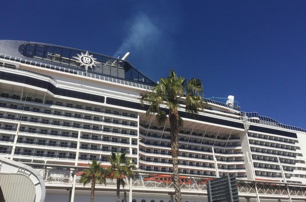 Cruisen op de MSC Meraviglia