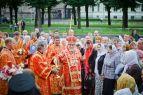 2012-07-16 Торжественное богослужение в день обретения мощей сщмч. Иоанна Рижского (Фото Д.Седов)