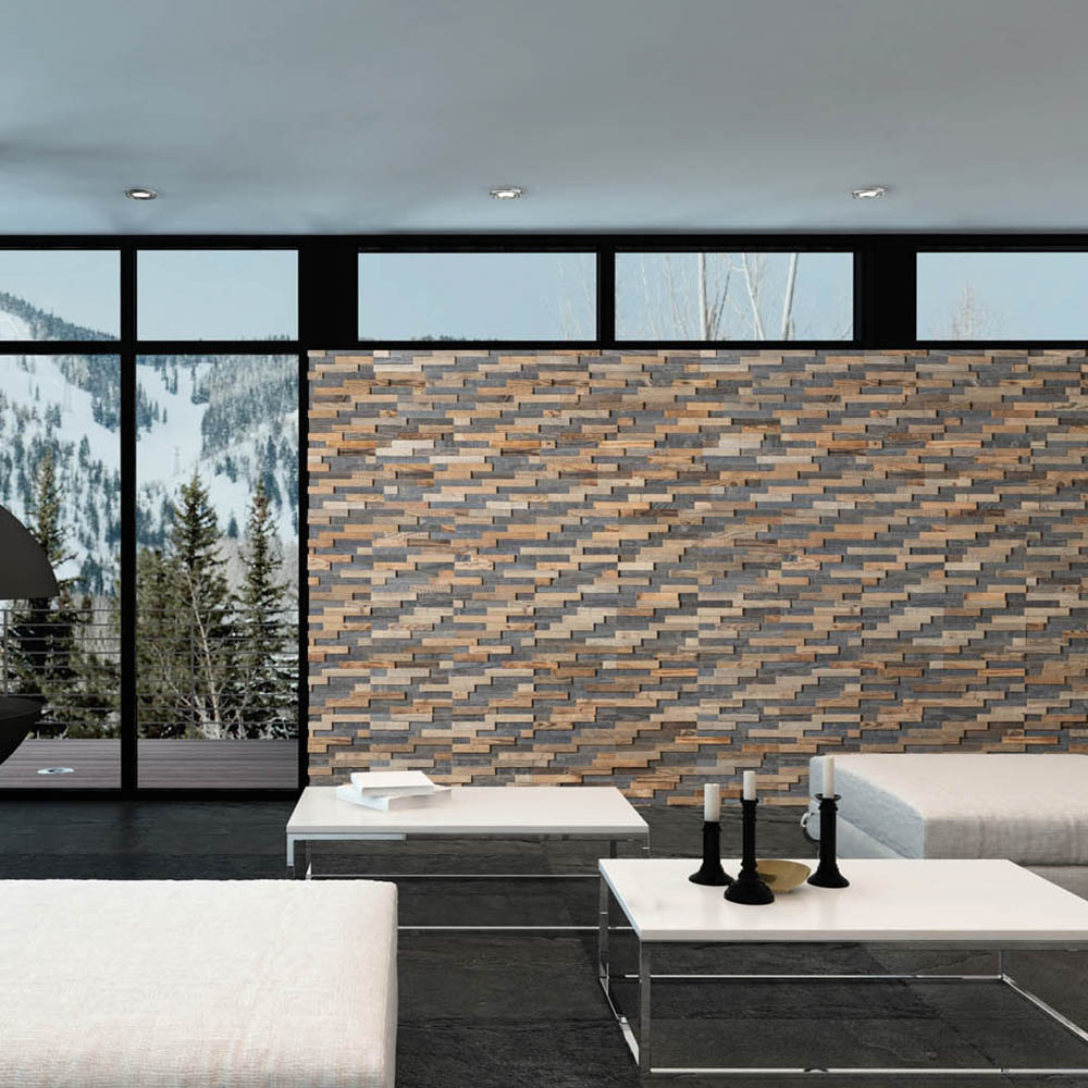revetement mural bois bravo mur interieur en bois massif wooden wall design