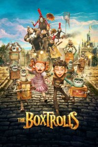 """Poster for the movie """"The Boxtrolls"""""""