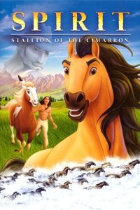 "Poster for the movie ""Spirit: Stallion of the Cimarron"""