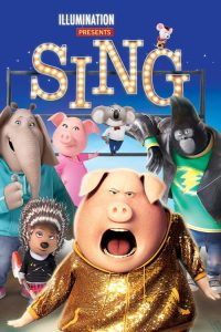 """Poster for the movie """"Sing"""""""