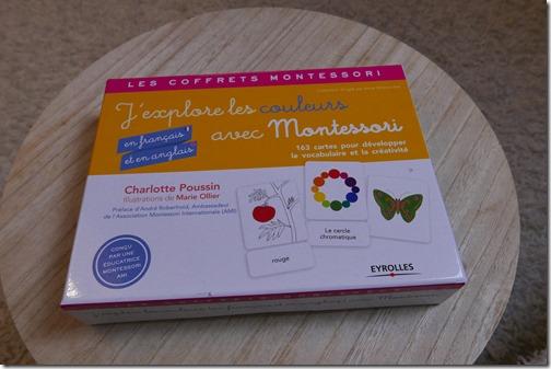 J'explore les couleurs avec Montessori