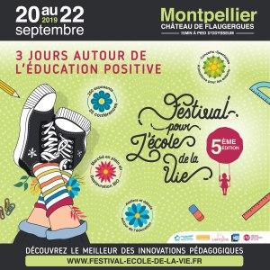 Affiche pour le Festival pour l'école de la Vie