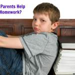 Should Parents Help With Homework?