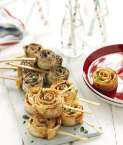 Pinwheel lollipops
