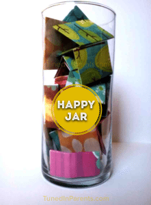 Happy Jar With Activities