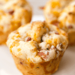 muffin cup ham and cheese biscuits font