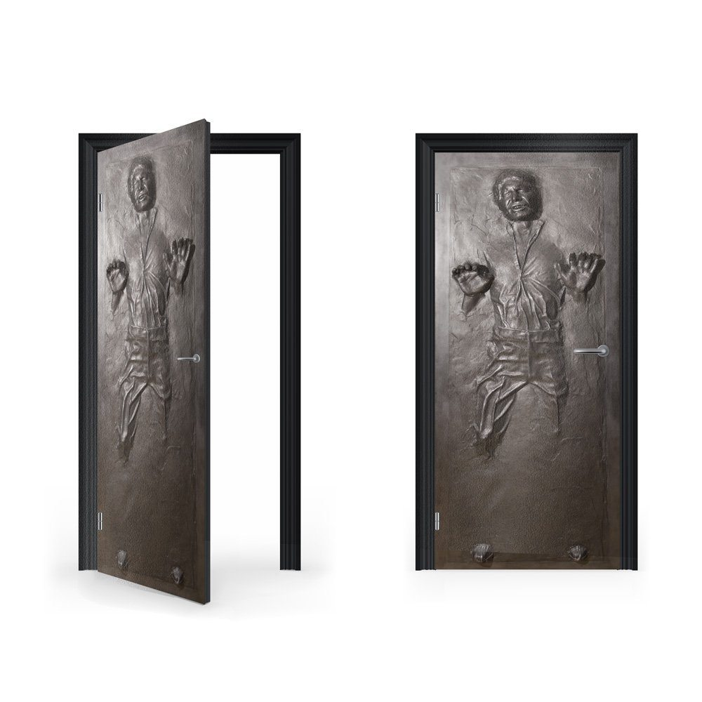 This Is Something That Every Star Wars Fan Will Die For U2013 To Make Your  Bedroom Door Look Like It Has Han Solo Frozen In Carbonate Or Even Your  Front Door.