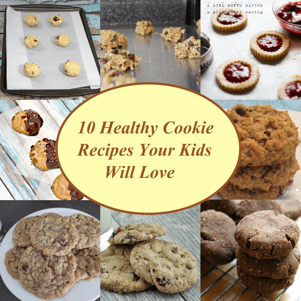 10 Healthy Cookie Recipes Your Kids Will Love