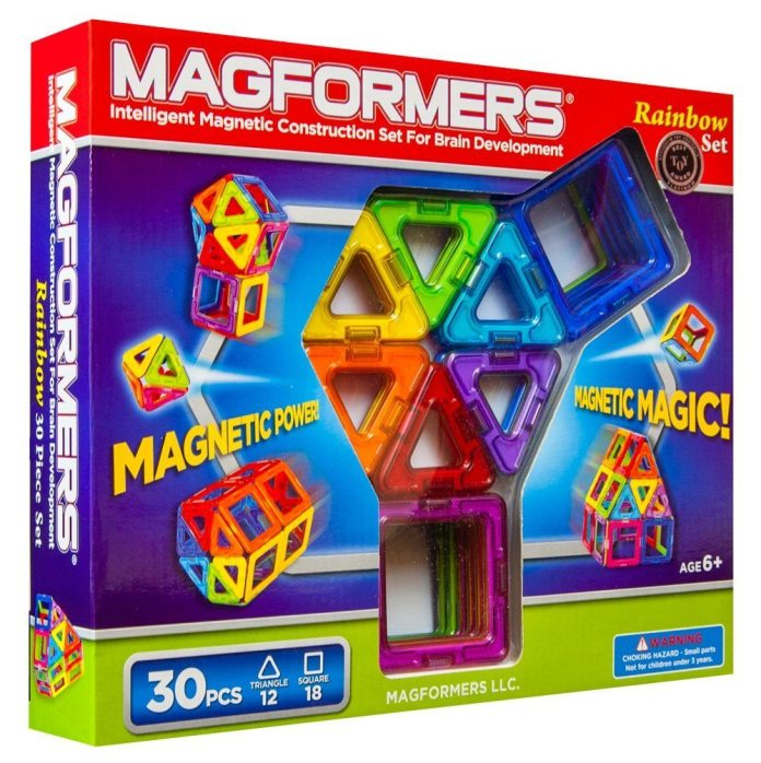 Magformers Rainbow Set Review