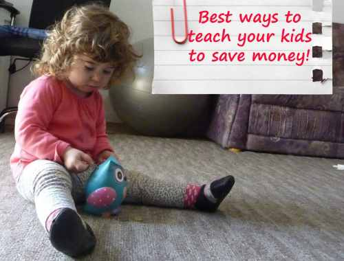 teach kids to save money