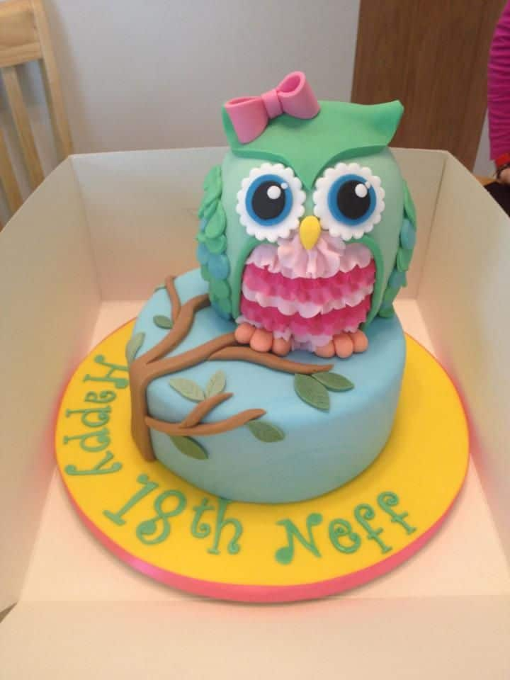 15 Most Amazing Owl Birthday Cakes - Parental Journey