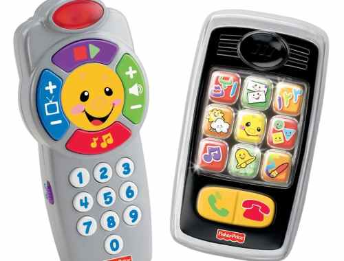 Fisher-Price Laugh and Learn Remote and Smilin' Smartphone Bundle