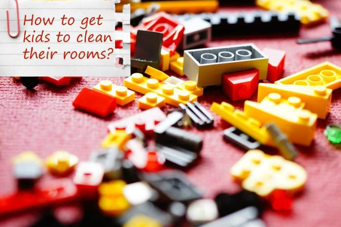 How to get kids to clean their rooms
