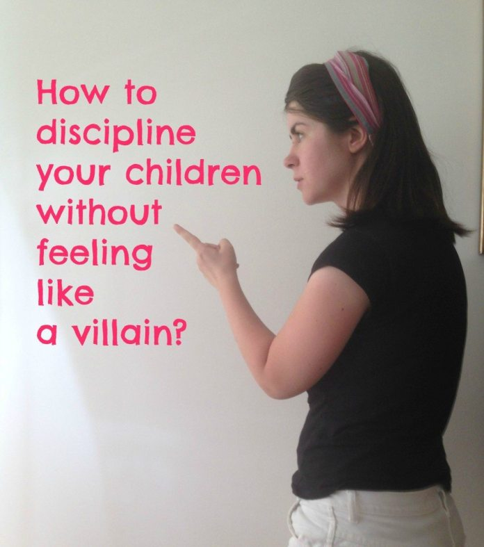 discipline a child