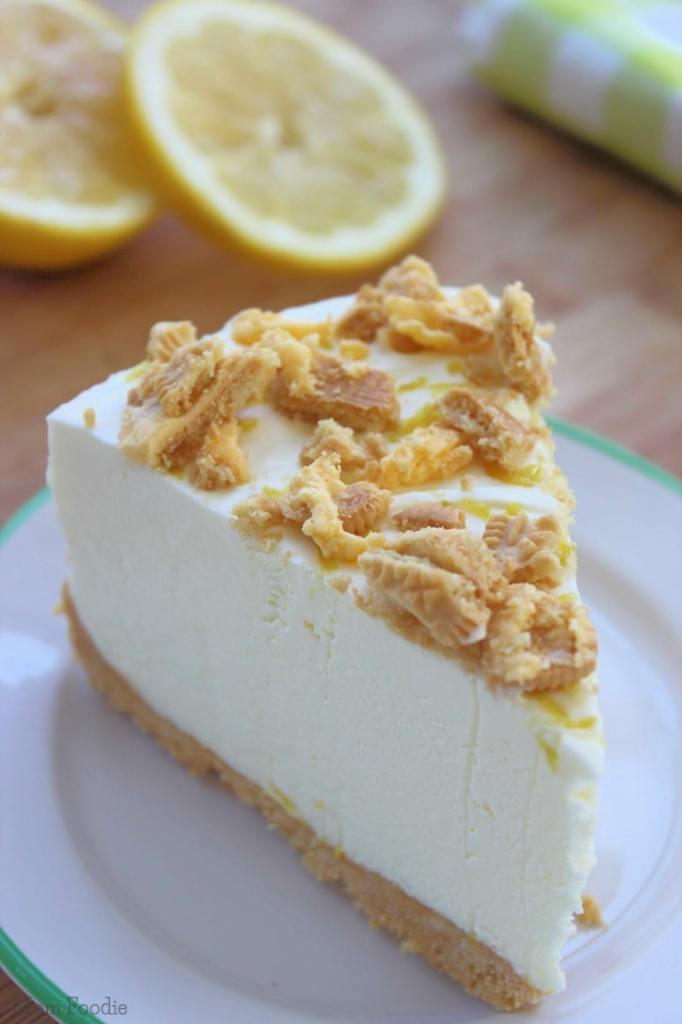 Triple Lemon Oreo Cheesecake