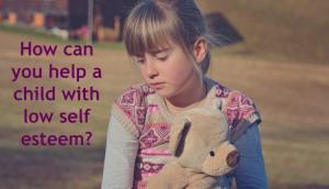 child with low self esteem