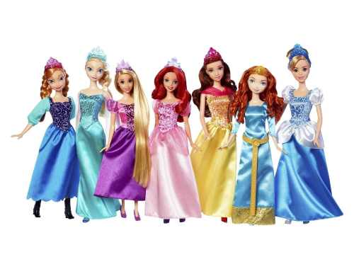 Disney princess Royal Doll Collection