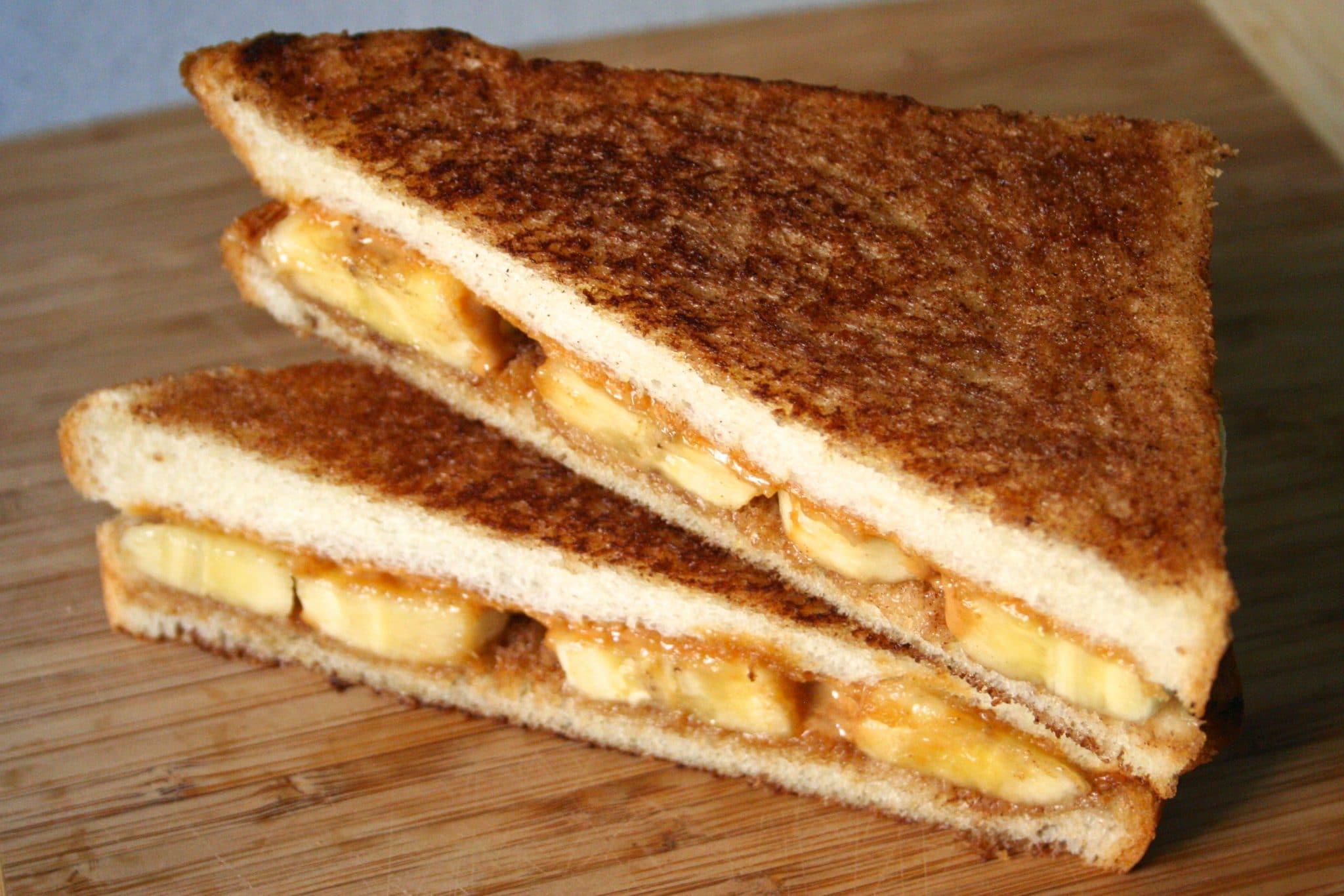 Peanut Butter Banana Sandwich