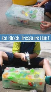 Ice Block Treasure Hunt