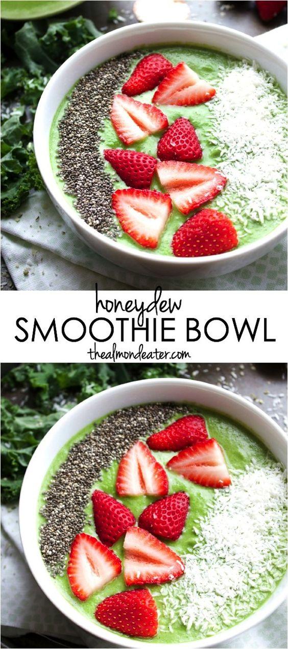 honeydew smoothie bowl