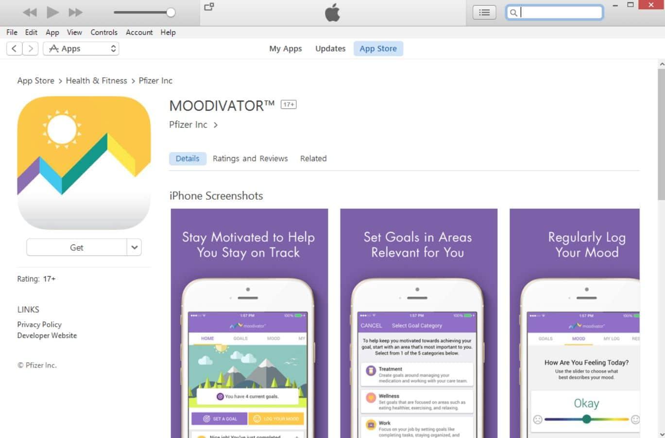moodivator application