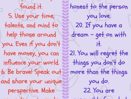 25 lessons you should teach your kids