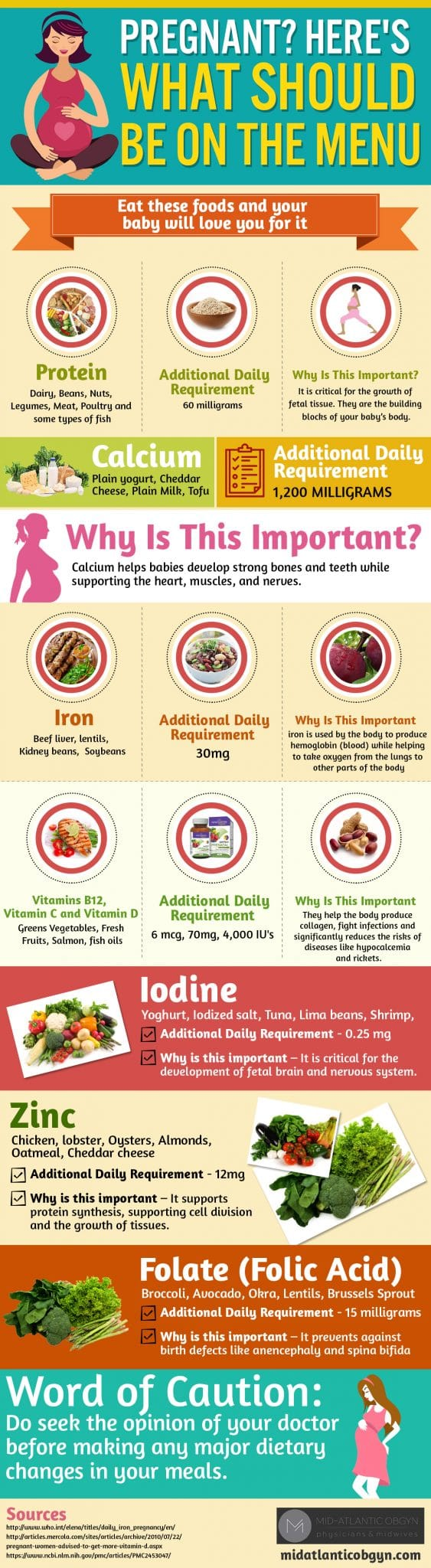 Pregnancy Nutrition - 6 of the Best Pregnancy Foods for Women