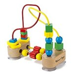 Melissa & Doug First Bead Maze – Wooden Educational Toy