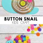 Button Snail Craft