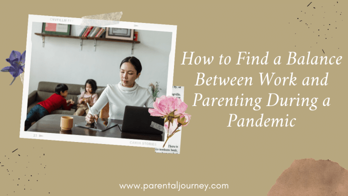 balance between working and parenting