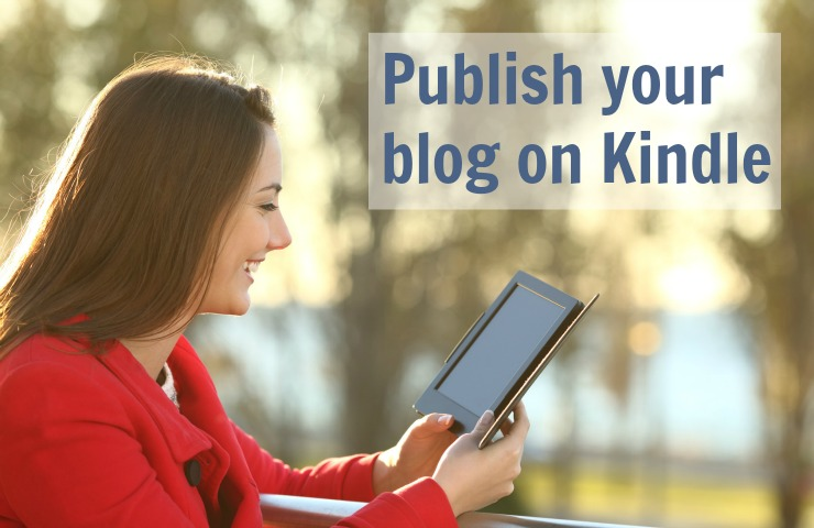 Publish your blog on Kindle