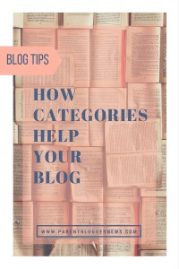 How categories help your blog - 4 reasons they are important.