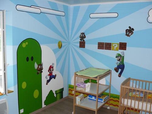 Super Chambre Super Mario Pour Super Bebe Guide Du Parent