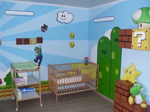 Super Chambre Super Mario pour Super Bébé – Guide du Parent Galactique