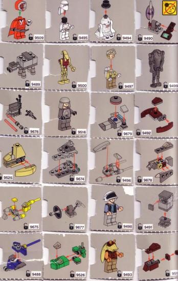 Calendrier Lego Star Wars 2012