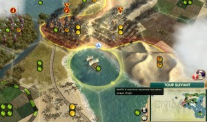 Des pions-unités qu'on déplace chacun son tour sur un plateau constitué de cases... Civilization est un jeu de société !
