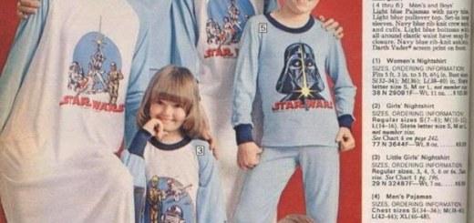 La force du pyjama est puissante dans ta famille